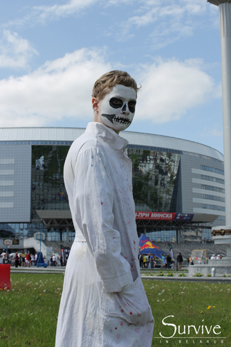 Фестиваль уличного спорта на Минск — Арене